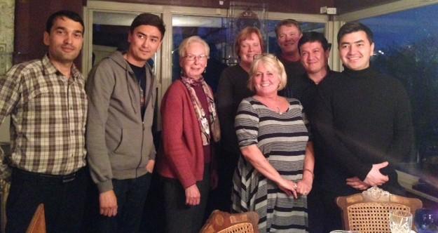 Host Family Dinner Terilyn Reber